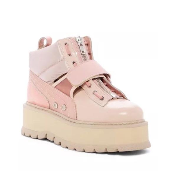 0793aa43c1e5a9 FENTY PUMA by Rihanna Sneaker Platform Boot Pink